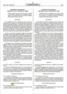DECRETO 16/2015, de 6 de febrero, del Consell, de modificación del Decreto 145/2000, de 26 de septiembre, por el que se regula, en la Comunitat Valenciana, la tenencia de animales potencialmente peligrosos